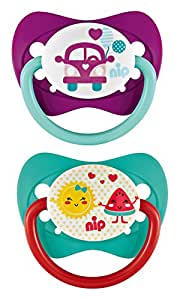Nip Soothers Family Latex Girl (0–6Months