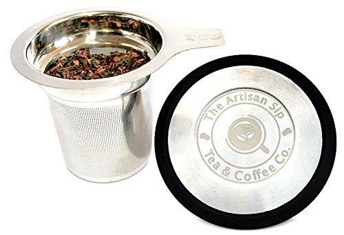 In acciaio inox tè infusore per tè-extra-wide labbra per tazze,