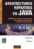 Architectures réparties en Java - 3e éd. - Middleware Java, services web,...