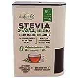 Daforto Stevia Tabs, 500 Stück, 1er Pack (1 x 30 g)