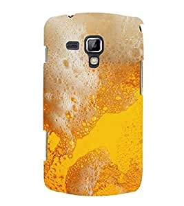 PrintVisa Mouth Watering Foam 3D Hard Polycarbonate Designer Back Case Cover for Samsung Galaxy S Duos S7562