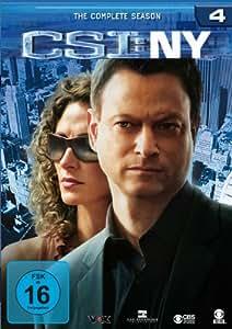 CSI: NY - Season 4 [6 DVDs]