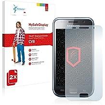 2x Vikuiti MySafeDisplay protector de pantalla CV8 de 3M para Samsung GT-I9001