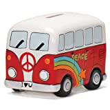 Camper Van Money Box (Color May Vary)