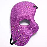 Weihnachten Halloween Party Maske Opera Phantom Ball Goldpulver halbe Gesichtsmaske