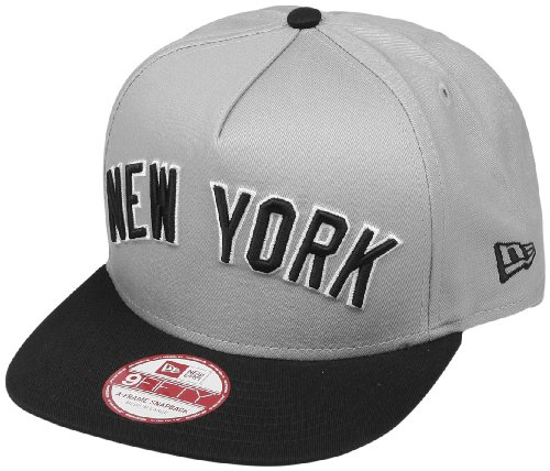 Casquette 9Fifty A-Frame Turnover 2 New York Yankees New Era - Gris Bleu c78674d0b06