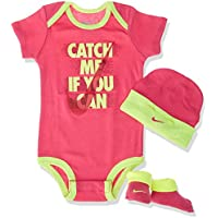 Nike Baby Catch Me If You Can Body Set, Rosa, 0–6Meses