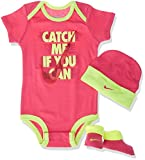 Nike Catch Me If You Can Baby Body Set, rosa, 0-6 Monate