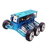SM SunniMix Kit de Robot de Campo Traviesa 6WD Arduino Search + Rescue Smart Car Aluminium Frame