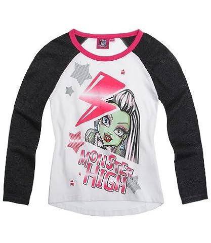 Monster High Shirts - Monster High Tee-shirt manches longues noir (14