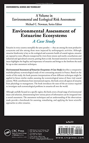 Environmental Assessment of Estuarine Ecosystems: A Case Study (Environmental and Ecological Risk Assessment)