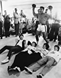 Muhammad Ali and the Beatles Reproduktion Foto Poster 40x30 cm