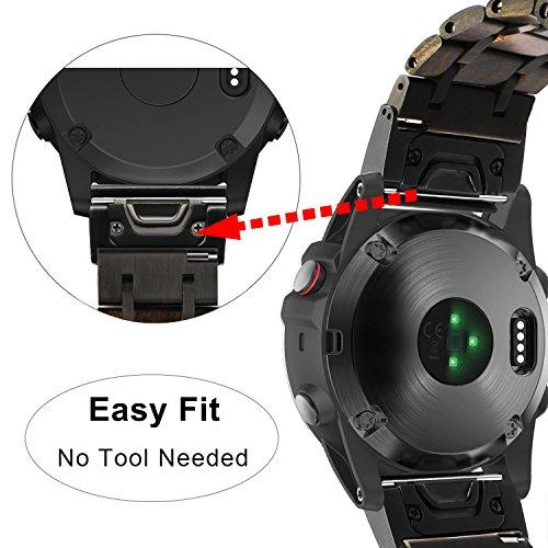 Zoom IMG-1 trumirr fenix 5x cinturino 26mm