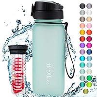 """720°DGREE Trinkflasche """"uberBottle"""" mit Früchtebehälter - 650ml - Deine Lifestyle Wasserflasche aus Tritan -..."""