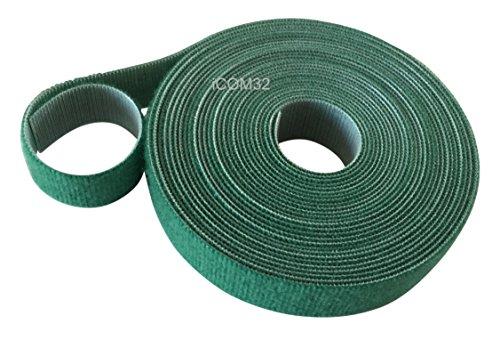 Velcro® Marke Haken und Loop one-wrap ® Rückseite an Rückseite Umreifung in grün 2cm breit, grün, 0.5M (50CMs)