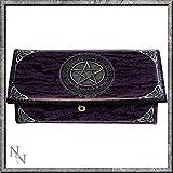 Pentagram púrpura bolso 18cm por Luna Lakota Nemesis Now