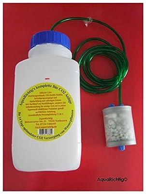 Centrale Maxi Bio CO2complète avec CO2Réacteur/Flipper pour aquariums de 250à 500litres