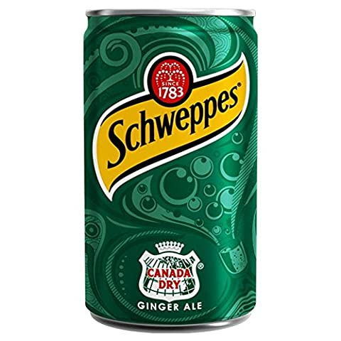 Schweppes Canada Dry Ginger Ale Mini peut 150ml