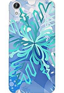 AMEZ designer printed 3d premium high quality back case cover for HTC Desire 626 LTE (Snow-Texture-Pattern-Background-iphone-5--ilikecom)