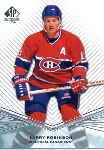 2011 /12 Upper Deck SP Authentic Hockey Card #50 Larry Robinson