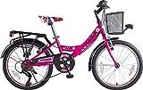 Orbis Bikes 20 Zoll Kinder Fahrrad Kinderfahrrad Cityfahrrad City Bike Rad Mädchenfahrrad Bike Voltage Lady PINK