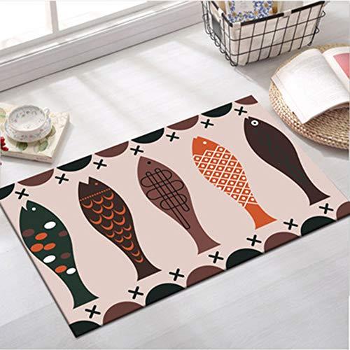 NIMTANZZ Küche rutschfeste Matten Ölkissen Erker Bad saugfähigen Türmatte Küchenmatte Bad Teppichmatte nach Hause