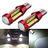 Raysen 2x Stück T10 Auto Lampen LED Super Helle Canbus Keine Fehlermeldung 78-SMD 4014 LED KFZ Birnen Xenon-Weiß für Innenraumbeleuchtung,Standlicht,Kennzeichenbeleuchtung, DC12V