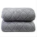 WMWZ Luxury Flannel Double Electric Blanket Bed King Electric Heated Blanket Underblanket Fitted