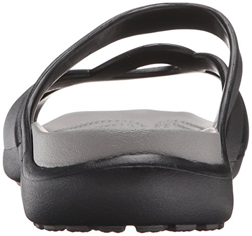 Crocs - Meleen Twist, Ciabatte Donna Nero (Black/Smoke)
