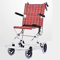 Silla de ruedas plegable portátil de la luz de los niños, viajes ultraligero pequeño portátil simple plegable.
