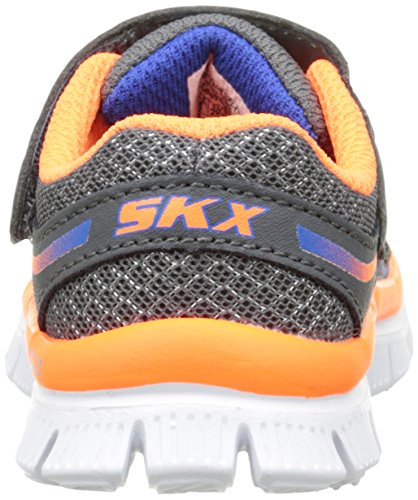 Skechers Flex Advantage - Sneakers Basses - Garçon Gris (CCOR)