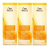 Wella Color Fresh Acid 7/47 mittelblond rot-braun 3 x 75 ml Tönungsliquid Gel-Tönung pH 6.5 CF