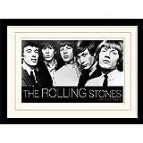 1art1 102055 Rolling Stones - Out Of Our Heads Gerahmtes Poster Für Fans Und Sammler 40 x 30 cm