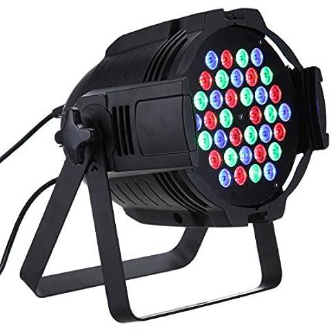 FARO STROBO RGB DJ FARETTO LAMPADA 36 LED DA 36W