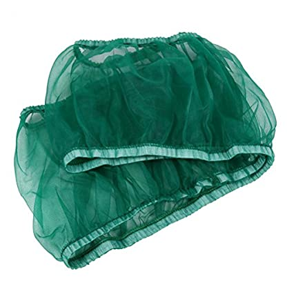 UEETEK Bird Cage Skirt Mesh Bird Cage Seed Catcher Guard Net Cover Green Size S 4