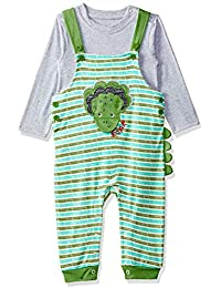 MINI KLUB Baby Boys' Regular Fit Clothing Set (Pack of 2)