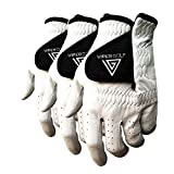 #9: Viper Golf All Weather Golf Glove - Right Hand (For Lefty Golfer) - WHITE (Pack of 3 Gloves)