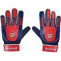 Arsenal FC Official Football Gift Kids Youths Goalkeeper Goalie Gloves