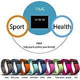GoBuy® TW64Bluetooth V4.0Smart Watch, reloj deportivo inteligente de muñeca para deporte, podómetro, fitness, seguimiento de actividad, recordatorio, para IOS 6.1+, Android 4.3+, negro