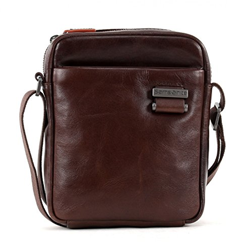 Samsonite West Harbor Borsa Messenger, 27 Cm, 4,5 Litri, Nero Brown