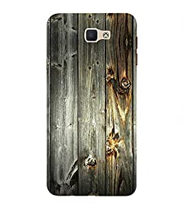 PrintVisa Designer Back Case Cover for Samsung Galaxy On7 (2016) (A Wooden Surface Pattern)