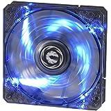BitFenix Spectre PRO BFF-LPRO-12025B-RP Ventilateur avec LED Bleu pour boitier 120 mm Noir