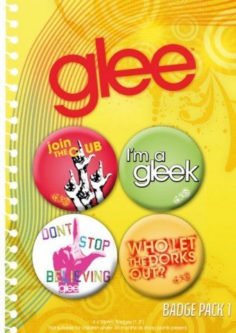 Click for larger image of Glee Pack Badge pack