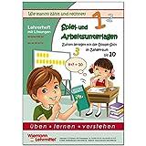 Spiel- und Arbeitsunterlagen - Zahlen zerlegen mit der Splitbox (Lehrerheft)