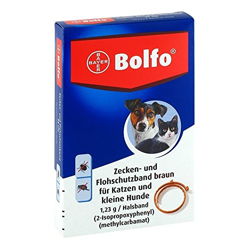 Bayer Vital GmbH Bolfo Flohschutzband für 1 STK - Kleine Taxi Haustier
