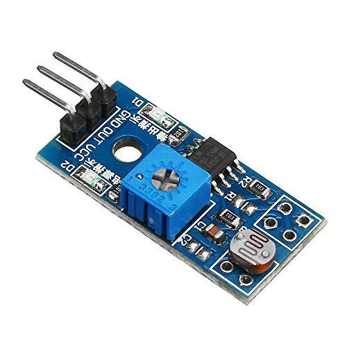 ROUHO 3Pcs 5V/3.3V 3 Pin Lichtempfindlichen Sensor Modul Fernerkundung Widerstand Lichtmodul -