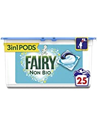 Fairy Non Bio Pods Washing Capsules for Sensitive Skin, 25 Washes