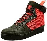 Nike Herren Sf Af1 Mid Gymnastikschuhe, Mehrfarbig (Cargo Khakitotal Crimsoncargo Khaki), 39 EU