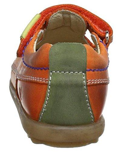 Naturino 2006737019103, Baskets mode mixte enfant Orange