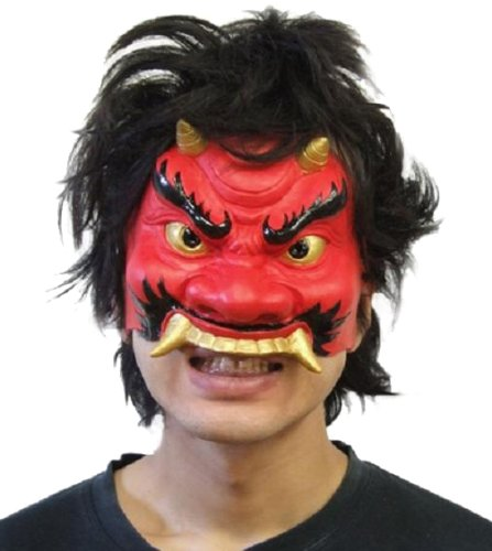 One side mask Oni japan import
